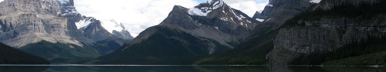 A picture of Maligne Lake