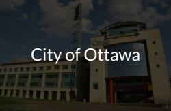 Picture of City Hall building with City of Ottawa name